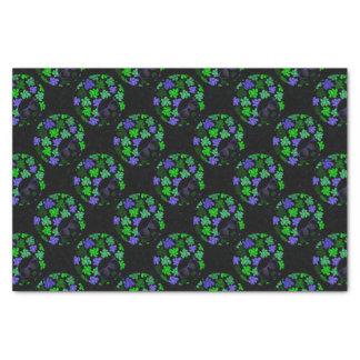 Afro Diva Green & Blue Tissue Paper