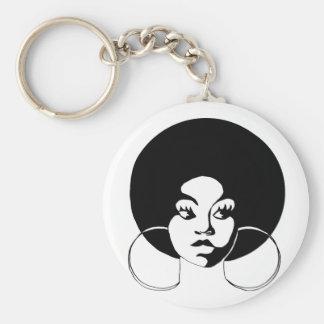 Afro Diva Keychain