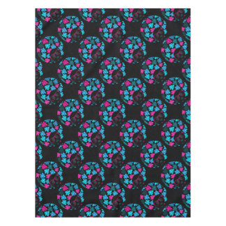 Afro Diva Turquoise & Hot Pink Tablecloth