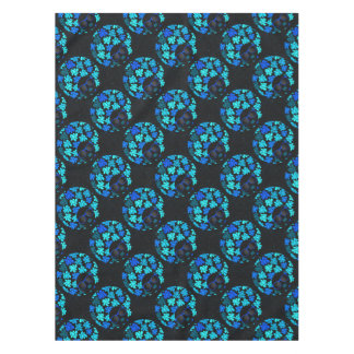Afro Diva Turquoise Teal Tablecloth