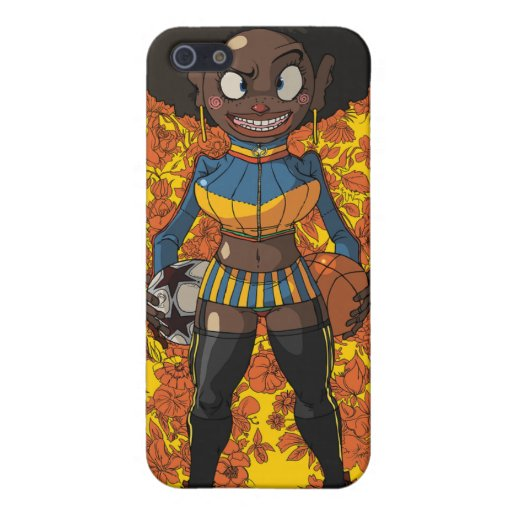 Afro Girl Cover For iPhone 5