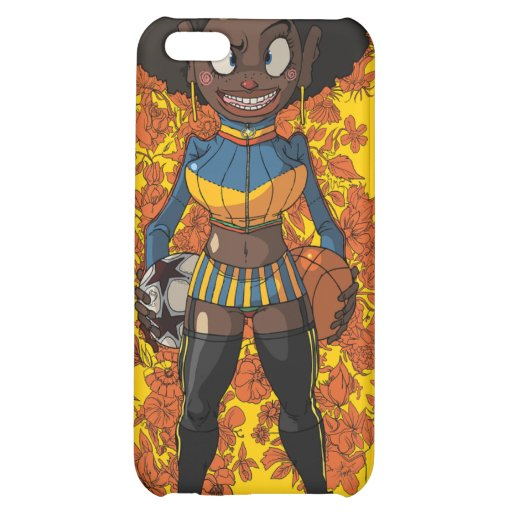 Afro Girl iPhone 5C Covers