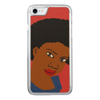 Afro Hair Natural Hair Carved iPhone 8/7 Case