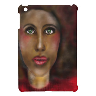 afro lady iPad mini cases