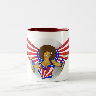 Afro Love Angel Mug