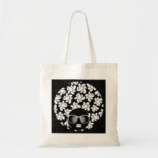 Afro Love Black & White Tote Bag