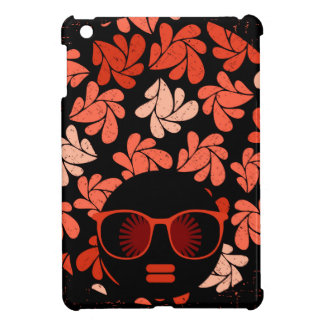 Afro Love Coral Red Pillow iPad Mini Cases