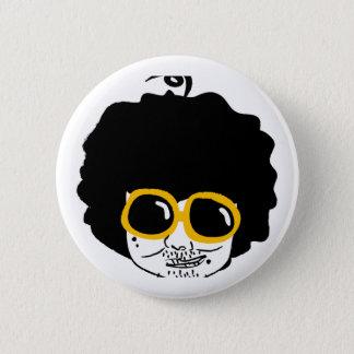 afro man 2 inch round button