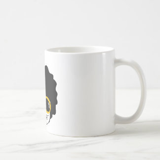 afro man coffee mug