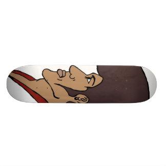 Afro Man Skateboard