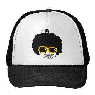 afro man trucker hat