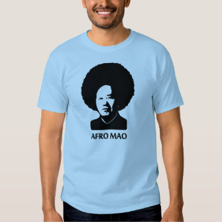 Afro Mao Tee Shirts
