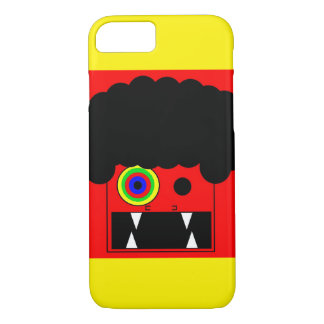 afro monster iPhone 7 case