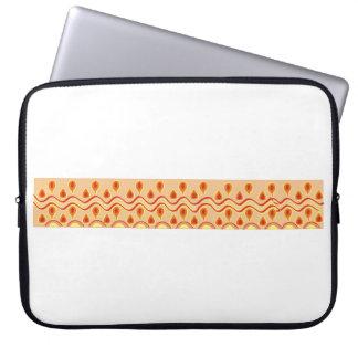 Afro motif Laptop Sleeve
