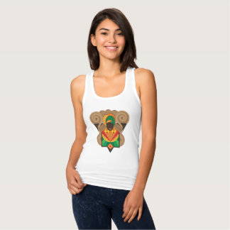 Afro Muse Shield Tank Top