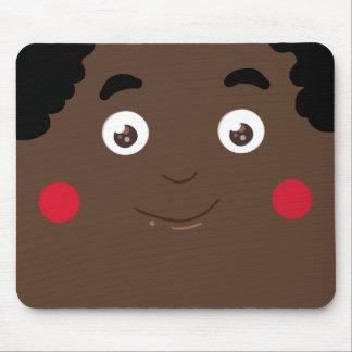 Afro princess mouse pad
