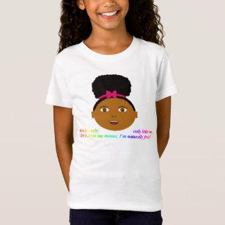 Afro puff t-shirt