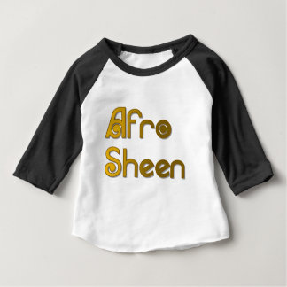 Afro Sheen Sist- gold Baby T-Shirt