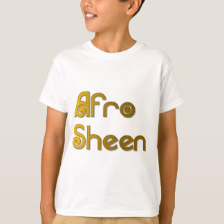 Afro Sheen Sist- gold T-Shirt