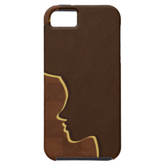 Afro Silhouette iPhone 5 Case-Mate Tough