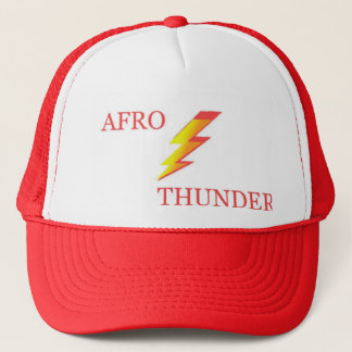 AFRO THUNDER TRUCKER HAT