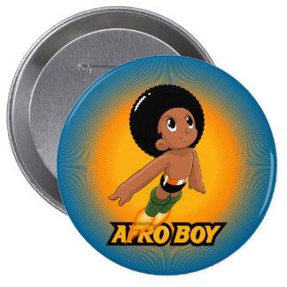AfroBoy! 4 Inch Round Button