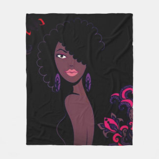 Afrocentric Beauty Blanket