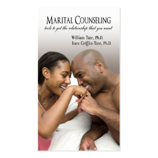 Afrocentric - Marital Counseling Couples Therapy Business Cards