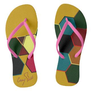 Afrocentric Sandals Flip Flops