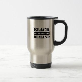 Afrocentric tee travel mug