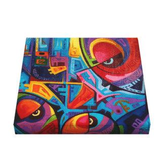 afrocntric art canvas print