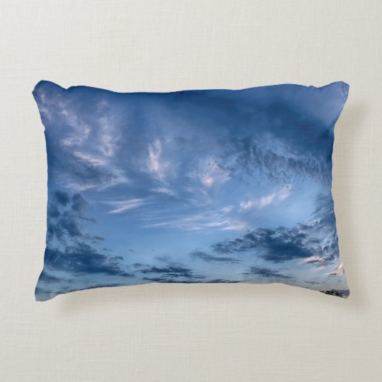 After A Rain Shower Accent Pillow