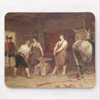 After Culloden: Rebel Hunting (oil on canvas) Mouse Pad