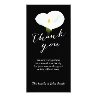 thank you after funeral