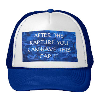 After Rapture Give Away Hat