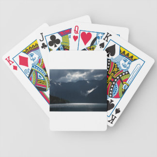After storm light bicycle playing cards