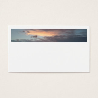 After Storm Sunset Business Cards