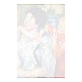 After The Bath By Cassatt Mary (Best Quality) Stationery Design