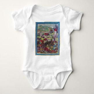 After the Battle of Triboltingen in Swabian War Baby Bodysuit