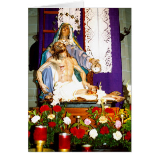 After the crucifixion, Malta Greeting Card