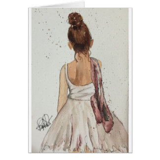 After the Dance Watercolor Note Cards