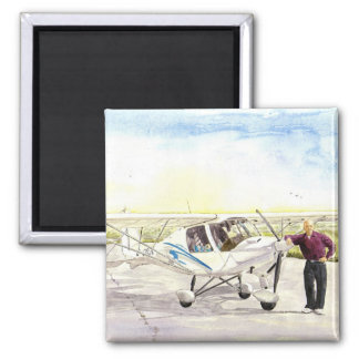 'After the Flight' Magnet