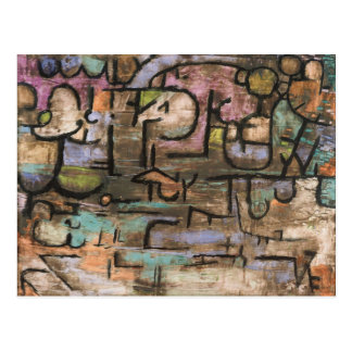 After The Flood by Paul Klee Postcard