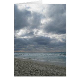 After the Storm: Varadero, Cuba Card