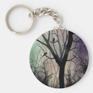 After Twilight Basic Round Button Keychain