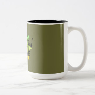 after we are dead it is too late Two-Tone coffee mug