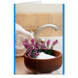 Afternoon Bath Card