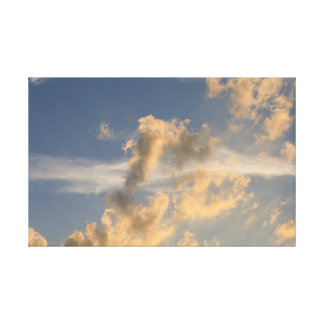 Afternoon Clouds Canvas Print