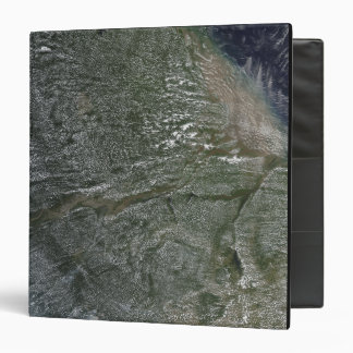 Afternoon clouds over the Amazon Basin Vinyl Binders
