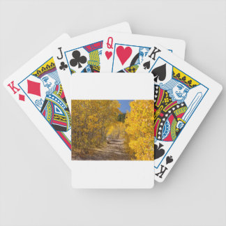 Afternoon Drive Bicycle Playing Cards